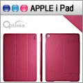 Optima iPad Air 2 義大利皮革多角度保護套 - 針織系列 - 莓