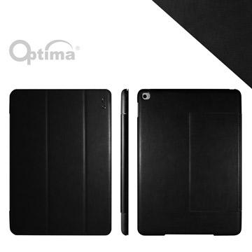 Optima iPad Air 2 義大利皮革多角度保護套 - 纖柔系列- 黑