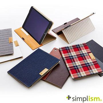 Simplism iPad Air2 記事本型側開掀蓋保護殼