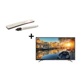 Dr. Board 可攜式超音波互動電子白板+HERAN 55吋LED液晶顯示器