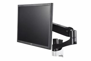 14'~27' 壁掛型雙節單螢幕旋臂桌架 螢幕支架 螢幕立架