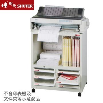 【樹德SHUTER】A4XM2-4H2P2V 小特助雪白效率櫃(4個X型高抽+2個X型低抽,不含活動輪)