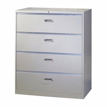 【豐盛鐵櫃】四層大抽屜理想櫃/鋼製公文櫃 (台灣製)