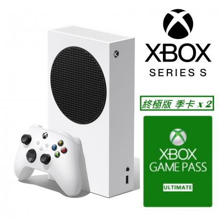 【Microsoft 微軟】Xbox Series S 主機 512GB+ XBOX Game Pass 終極版3個月x2