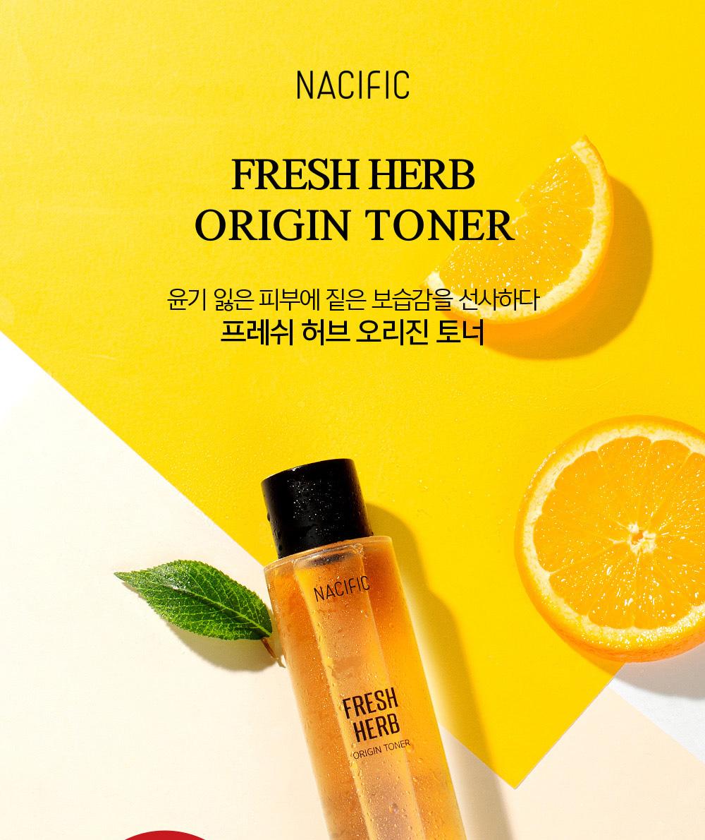 [Korea NACIFIC] Calendula-Herbal Reverse Skin Toner 150ml