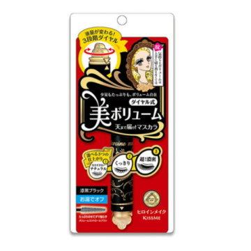 《Kiss Me奇士美》花漾美姬變妝圓舞曲轉轉睫毛膏5g(01曜石黑)