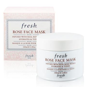 【Fresh】玫瑰潤澤保溼面膜 100ml Rose Face Mask