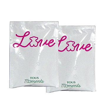 Tous Love 甜心女孩淡香水1.5ml x 2