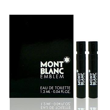 Montblanc Emblem 萬寶龍男性淡香水 1.2ml x 2