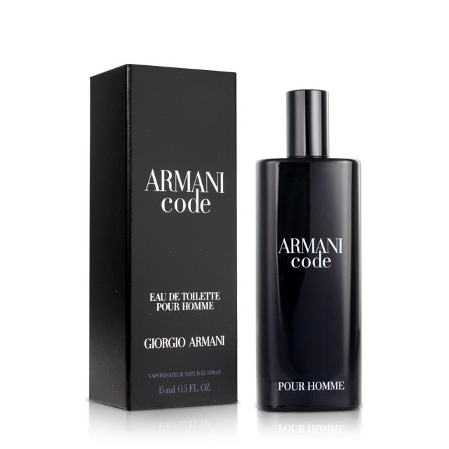 GIORGIO ARMANI Code 黑色密碼男性淡香水小香(15ml)