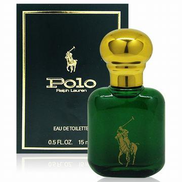 RALPH LAUREN POLO 綠色馬球男性淡香水15ml(美國進口)