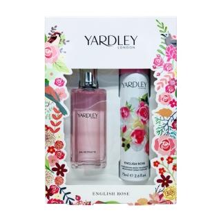 《英國YARDLEY雅麗》英國玫瑰香氛禮盒組