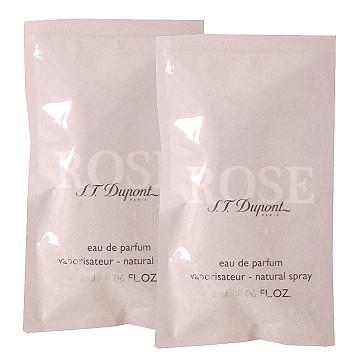 S.T.Dupont Rose 都彭晶鑽玫瑰女淡香精 2ml x 2