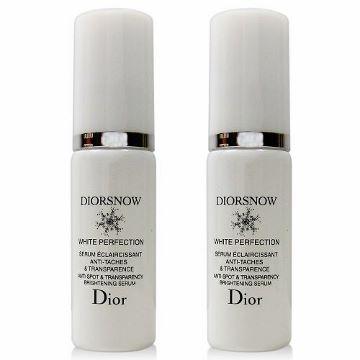 Dior 迪奧 雪晶靈極緻透白三效勻淨精華 7ml x2入