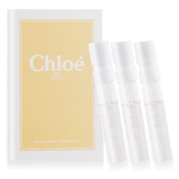 Chloe 白玫瑰女性淡香水針管(1.2ml)-公司貨x3