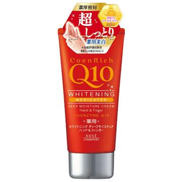 日本KOSE Q10活齡深層潤澤護手霜80g