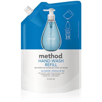 Method 美則  海藍礦物洗手乳(補充包)1000ml