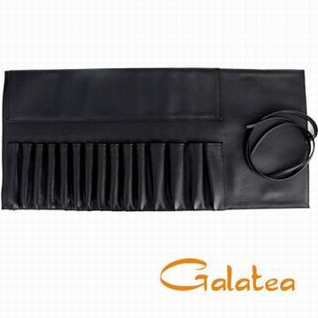 Galatea葛拉蒂-15孔專業刷具收納皮套