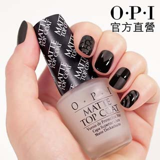 OPI MATTE TOP COAT.薄霧森林霧面護甲油(NTT35)