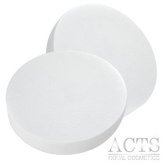 ACTS維詩彩妝 高密度Q海綿 圓形 2入