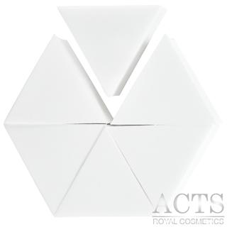 ACTS 維詩彩妝 高密度Q海綿 正三角型 6片入