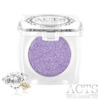 ACTS維詩彩妝 魔幻鑽石光眼影 迷幻紫鑽D524(2.3g)