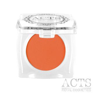 ACTS維詩彩妝 霧面純色眼影  甜柿橘A215(2.3g)