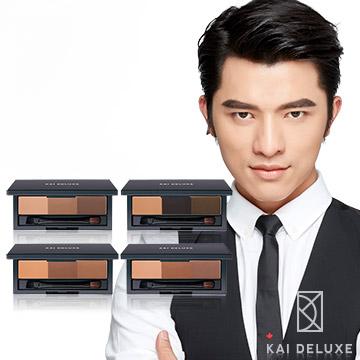 KAI DELUXE 型色大師 特調三色眉粉盒