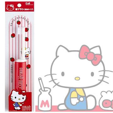 貝印KAIHello Kitty附蓋兒童牙刷S(KK1715)