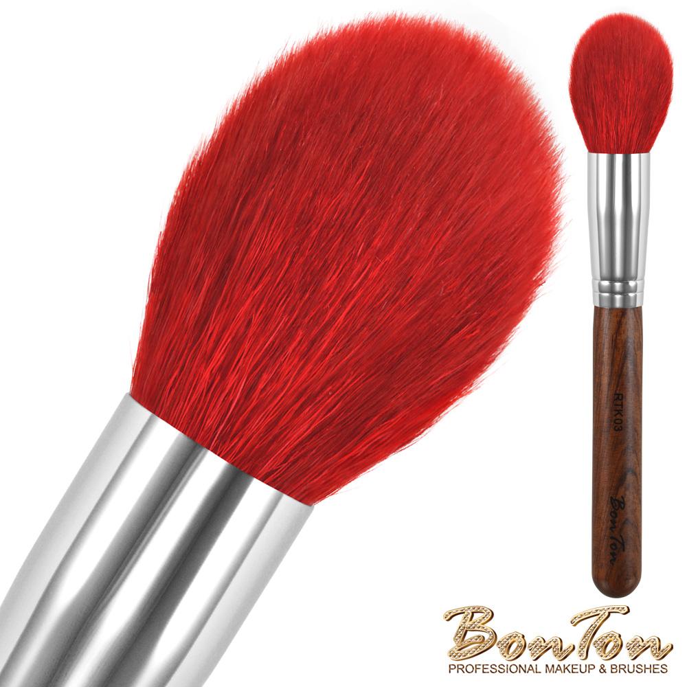 BonTon 原木系列 圓形腮紅刷 RTK03 特級尖鋒羊毛