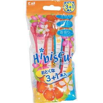 日本貝印女用得體刀(3+1入) TRN3-3PHB