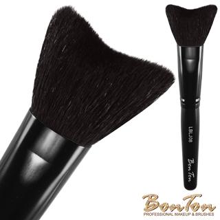 BonTon 墨黑系列 M形腮紅刷、修容刷LBLJ08 特級尖鋒羊毛