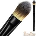 BonTon 墨黑系列 扁粉底刷(小) LBL004 三色纖維毛