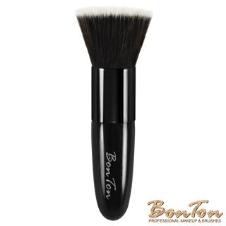 BonTon 經典系列 拋光式粉底、蜜粉、粉餅刷 時尚釉黑BLB01