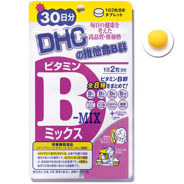 《DHC》維他命B群(30日份/ 60粒)