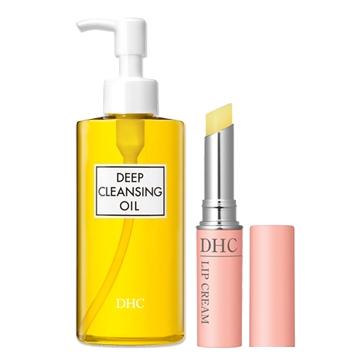 【DHC明星組】深層卸粧油 200ml + 純欖護唇膏 1.5g