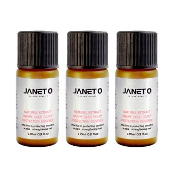 《JANET Q澤妮官》葡萄籽頭皮防護液10mlx3
