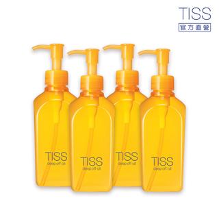 【4入】TISS 深層卸妝油(L) ─ 毛孔潔淨升級型 230ml