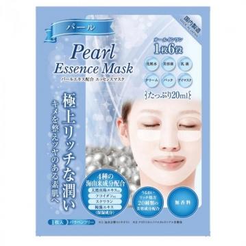 日本 極上高保濕精油面膜(單片) #珍珠