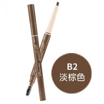 SIVANNA ES-8005 立體現型高畫質雙管自動眉筆 0.3g#B2 淡棕色