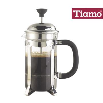 【金時代書香咖啡】Tiamo 法蘭西 濾壓壺 4杯 700ml(HA4099)