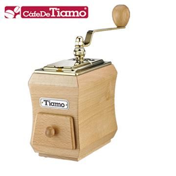 Tiamo NO.1頂級手搖磨豆機鈦金款 (HG6124)