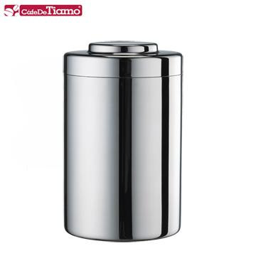 Tiamo 0903不鏽鋼茶葉罐-大(HG2805)