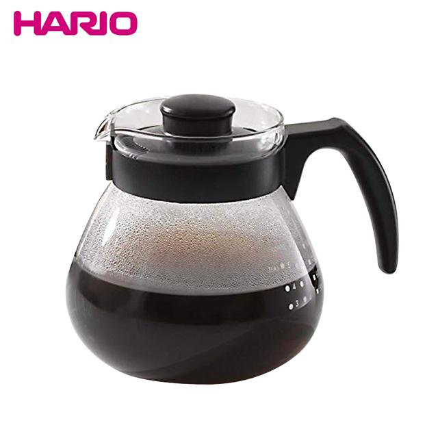 【HARIO】可微波耐熱咖啡壺 1000ml+日本Kyowa無漂白咖啡濾紙-80枚