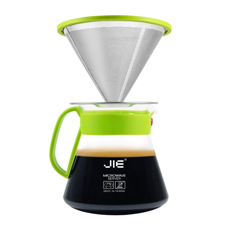 JIE繽紛咖啡濾杯組(靚綠)