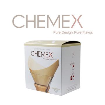 【美國】Chemex 手沖咖啡濾壺600 ml專用濾紙