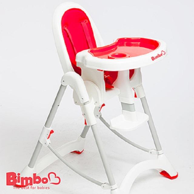 【BIMBO】台灣製造 安全兒童餐椅 - 紅色
