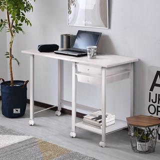 LOFT收納工作桌-白