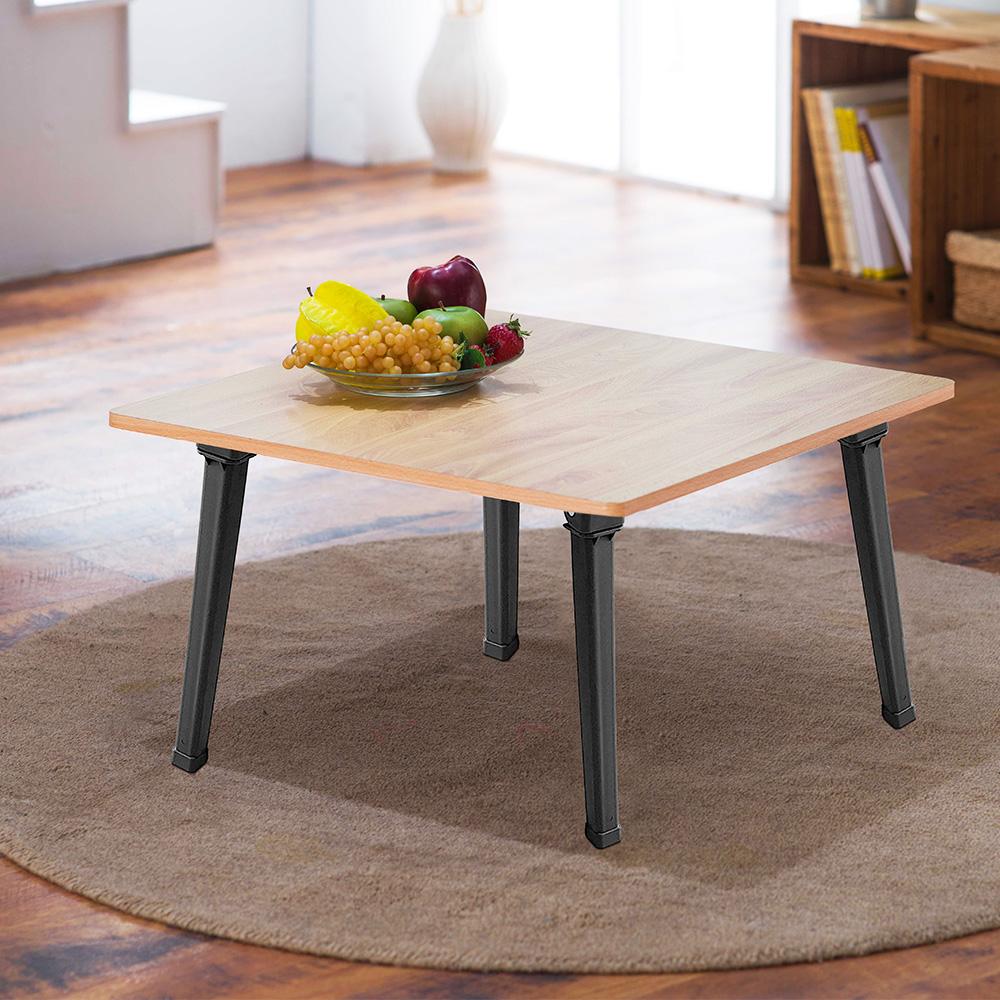 樂活家~木紋圓角小茶几/桌子/和室桌 2入組