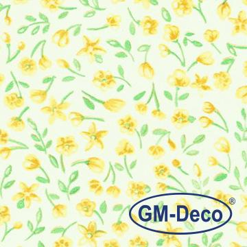 GM-DECO優質壁貼-黃花飛舞